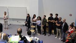 Présentation des intervenants aux élèves d'Ynov Paris